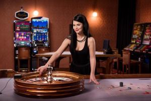 roulette live croupier casino