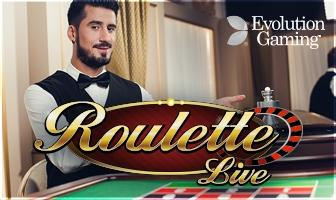 roulette live croupier evolution gaming